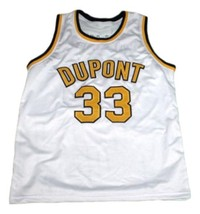Jason Williams #33 Dupont High School Basketball Jersey New Sewn White Any Size image 4