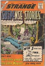 Strange Suspense Stories Comic Book #46, Charlton Comics 1960 VERY GOOD- - $8.79