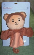 "Manhattan Toy Company MONKEY Hand Puppet 8.5""H New - $5.50"