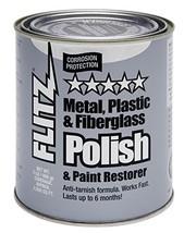 Flitz CA 03518-6 Blue Metal, Plastic and Fiberglass Polish Paste, 2.0 lb... - $47.45