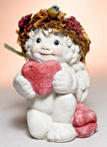 Dreamsicles: On Bended Knee - DC196 - Cherub With I Love You Heart - $23.55