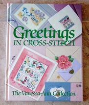 Counted Cross Stitch GREETINGS-Baby-Anniversary-Love-Sympathy-Holidays-Thank You - $10.00