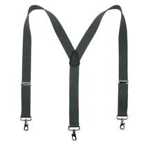 New MTL Men/'s Clip Ends Skull /& Crossbones Elastic Suspenders USA Made