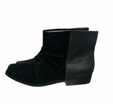 Joes Jeans Janette Ankle Boots Chelsea Booties Size 9 M Black - $59.79
