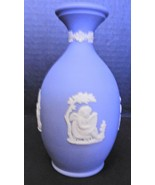 "Vintage Powder Blue Wedgwood Bud Vase - 5"" Tall - $18.99"
