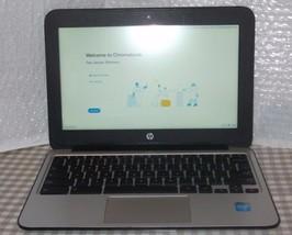 "HP Chromebook 11 G4 11.6"" 2.16GHz Celeron N2840 & Power Supply Good Condition - $44.00"