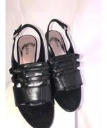 Alfani honey black heels size 10 - $34.65