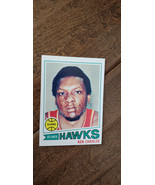 1977-78 TOPPS SIGNED CARD KEN CHARLES ATLANTA HAWKS BUFFALO BRAVES FORDH... - $19.99