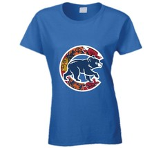Chicago Cubs T Shirt Womens Fitted Rizzo Bryant Maddon Russell Zobrist Sports W - $17.79+