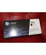 HP 53a Black Toner Cartridge (HP Q7553A) P2014 P2015 M2727 GENUINE NEW S... - $37.19