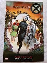 "HOUSE OF X/POWERS 13""x20"" D/S Original Promo Comic Poster SDCC 2019 MARV... - $14.69"