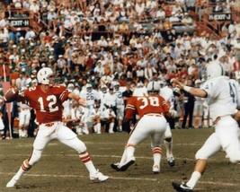 Jim Kelly 8X10 Photo Miami Hurricanes Ncaa Football Game Action - $3.95