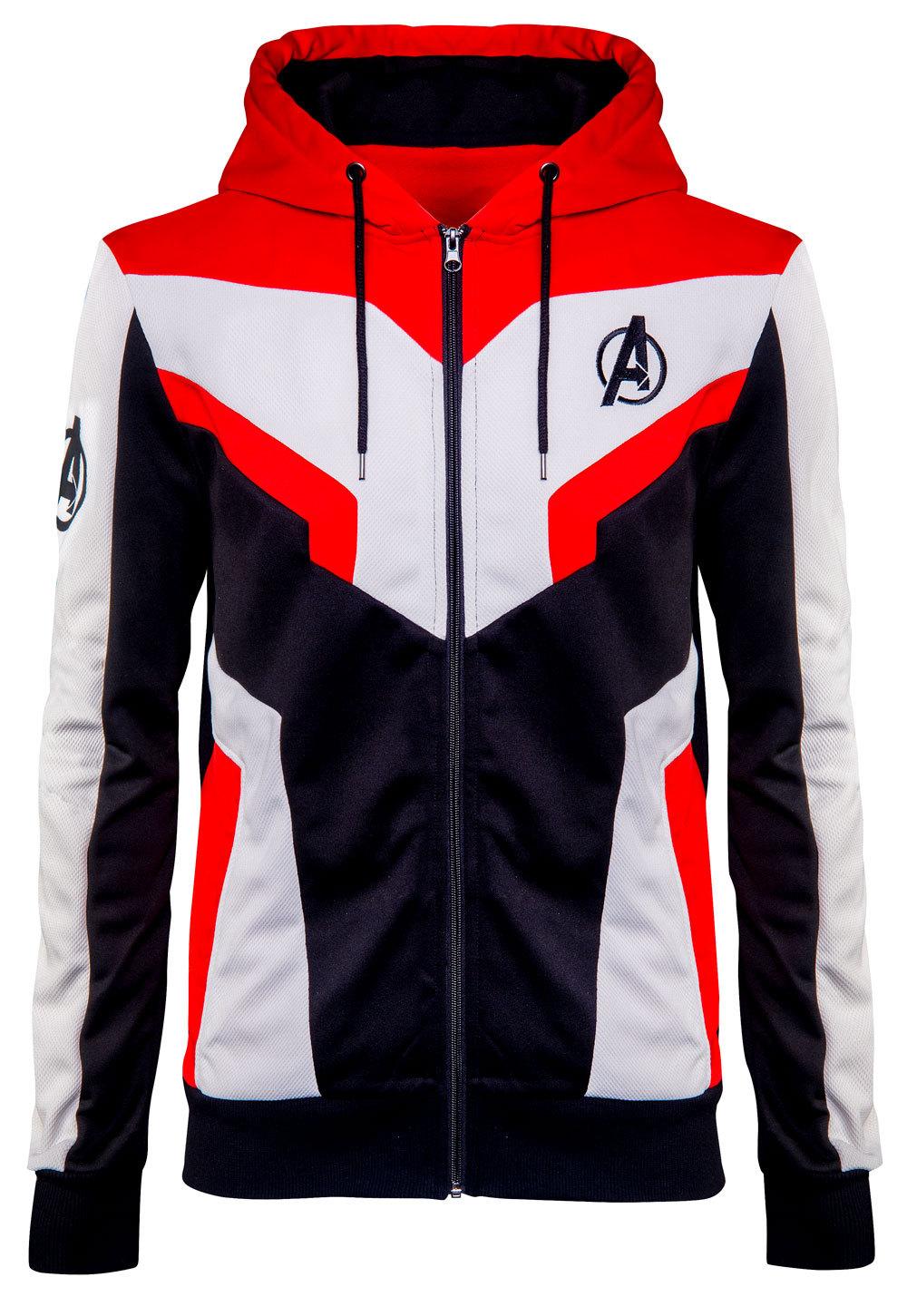 Mens avengers endgame quantum hoodie jacket