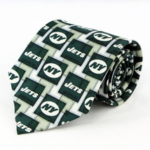 New York NY Jets Mens Silk Necktie NFL Football Logo Neck Tie Sports Fan... - $32.95
