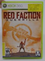 Red Faction Guerrilla Microsoft Xbox 360 2009 Video Game Complete in Box CIB THQ - $9.78