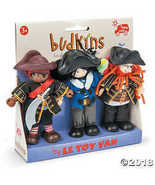 Le Toy Van Budkins Wooden Buccaneers Doll Set - $48.69