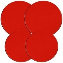 Reston Lloyd Electric Stove Burner Covers, Set of 4, Red, New, Free Ship... - $11.86