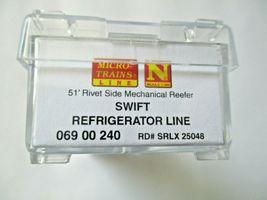 Micro-Trains # 06900240 Swift Refrigerator Line 51' Mechanical Reefer (N) image 5