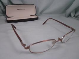 Anne Klein Eyeglass Frames AK9036 Metal Plastic Oval Full Rim Pink K1536-S - $18.00