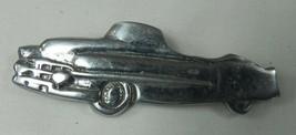 "Vintage 1950s Convertible Car Pin Silver-Tone Metal on 'Zad Card 3"" - $12.59"