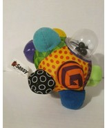 Sassy Playtime Ball /2017/ Different textures,  sponge, corduroy/ Rattles  - $5.90