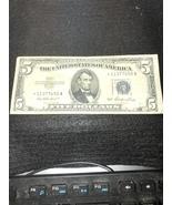 1953 Silver Certificate Star Note $5.00 - $49.00