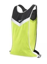 Nike Running Vivid Strike Reflective Night Run Safety Vest Black Gray Vo... - £19.98 GBP