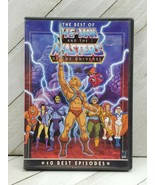 The Best of He-Man and the Masters of the Universe 2 DVD Collectors Edit... - $9.00