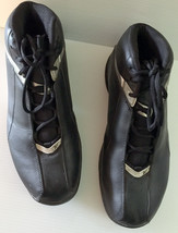 Authentic Reebok Basketball Shoes 80's Mens USA Size 12 Black Silver RB4... - $69.95