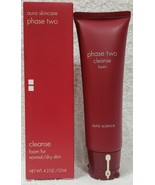 Aura Skincare Phase Two CLEANSE FOAM Normal Dry Skin Purify 4.2 oz/125mL... - $39.59