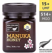 Zealand Honey Co. Raw Manuka Honey UMF 15+ | MGO 514+, 8.8oz / 250g - $41.83