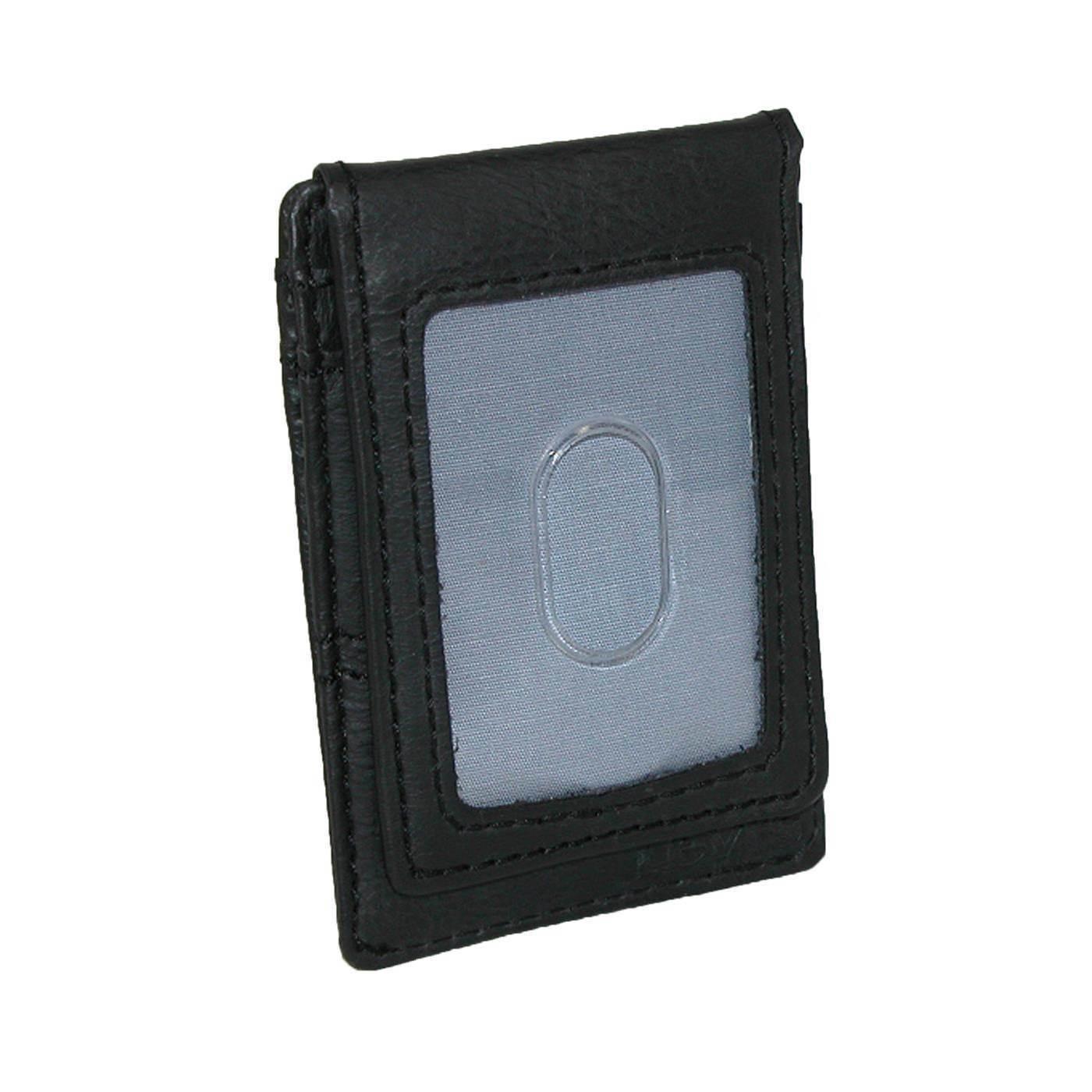 New Men's Levi's Rfid Blocking Wide Magnetic Front Pocket Wallet