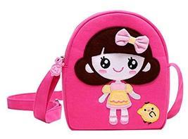 Panda Superstore Children Travel Shoulder Bag Cotton Cloth Bag Bag Princess Mess - $15.35