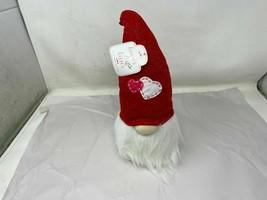"New ""HEART & KISSES, GNOME"" Plush Light up Decoration Cer00255-721 - $29.06"