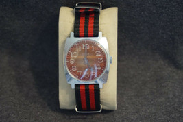 Soviet Vintage Mechanical Russian Watch Zim Orange Dial Top Condition Ra... - $21.19