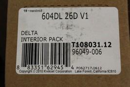 Kwikset 604DL-26DV1 Delta Lever Interior Pack for Single Cylinder Handlesets - $22.50