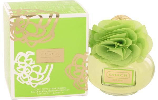 Coach poppy citrine blossom perfume