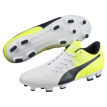 Puma Mens Evopower 4.3 Tricks FG Cleated Soccer Shoe White 11 #NGR2L-M381 - $34.99