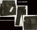 Liz claiborne gold fleck jeans 12 web collage thumb155 crop