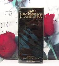 Decadence By Parlux Hand & Body Lotion 7.0 FL. OZ. NWB - $59.99