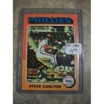 Steve Carlton 1975 Topps #185 - Phillies MLB baseball card - $5.65