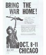 "VINTAGE 1969 8.5x14"" University of Michigan Days of Rage Flyer Che Guevara - $467.49"