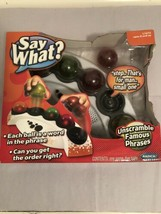Say What Electronic Word Game - 2007 - Mattel - Radica - $42.74