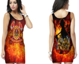 Firefighter department bodycon dress for women thumb155 crop