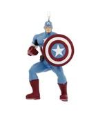2017 Hallmark Marvel Avengers Captain America Christmas Tree Ornament! - $10.50