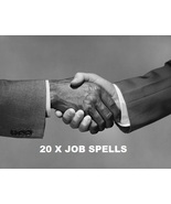 Get A JOB Employment 20 X Rituals White Witch Genuine Wealth Luck - $50.00