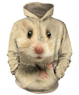 The Mountain Graphic Hoodie Hamster Face Size XL - $47.60