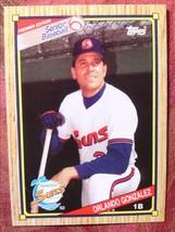 Senior Baseball Topps 1989#83 Orlando Gonzalez - $0.99