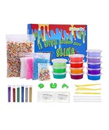 SuSenGo Super Slime Kit - 12 Colors Slime with 4 Pack Colorful Foam Balls, - $19.32