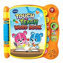 VTech Touch & Teach Word Book (Orange|Frustration-Free Packaging) - $33.58